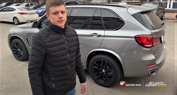 Абсолютно целый автомобиль BMW X5 2014 из США для клиента
